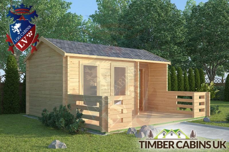 Log Cabin Arkholme 5m x 3m 001