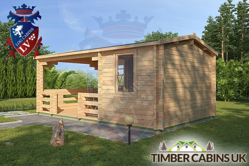 Log Cabin Ashfield 5.4m x 3.3m 001