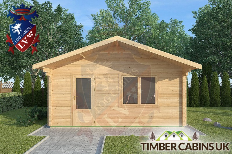 Log Cabin Aughton 5m x 5m 001