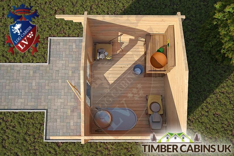 Log Cabin Aylesbury Vale 3m x 2.6m 001
