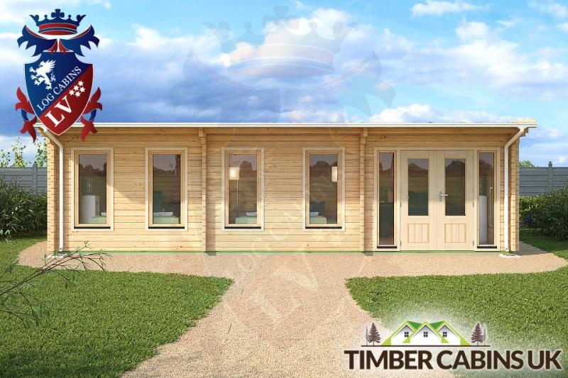 Log Cabin Barnsley 9m x 3.5m 001