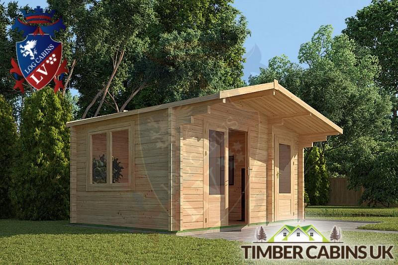 Log Cabin Basildon 4.5m x 3m 001