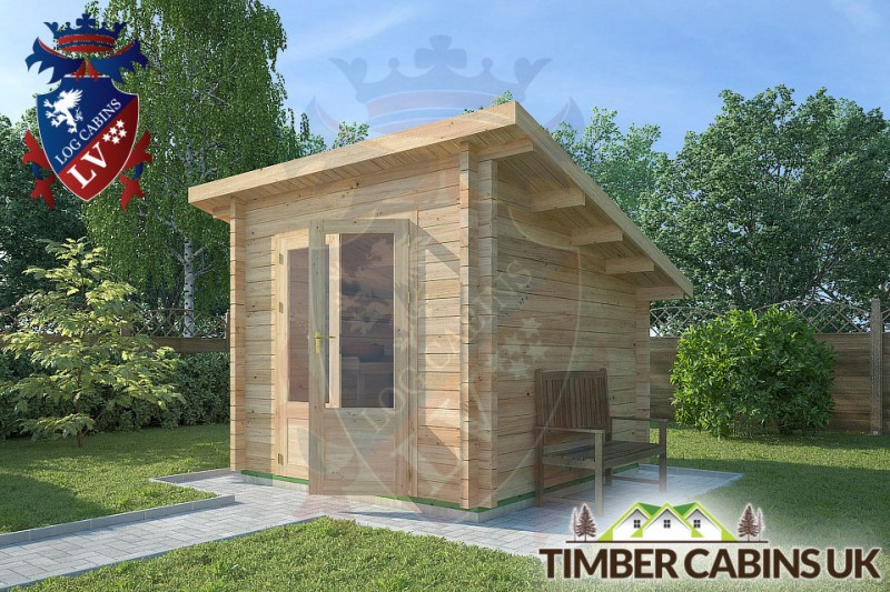Log Cabin Blackburn 2.5m x 2.5m 001