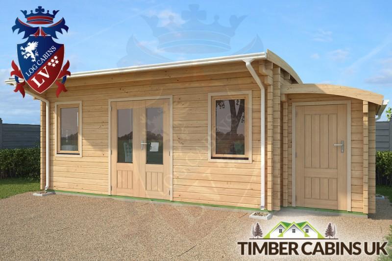 Log Cabin Bolton 7m x 3.5m 001