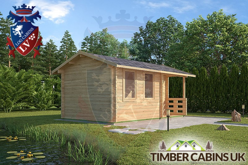 Log Cabin Bracknell Forest 5m x 3m 001