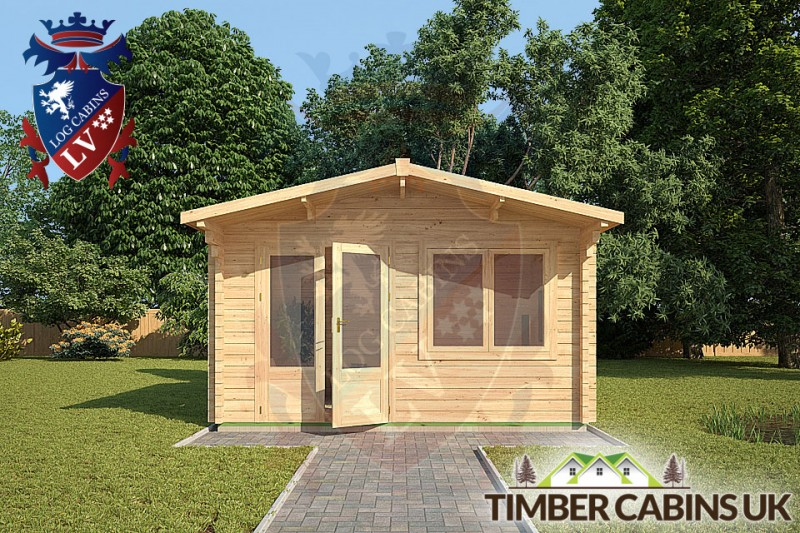 Log Cabin Brighton 4m x 3m 001