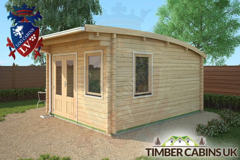 Log Cabin Bristol 3.5m x 4.5m 001
