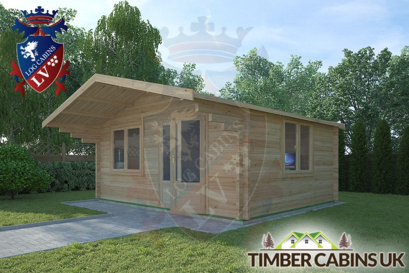 Log Cabin Burscough 5m x 4m 001
