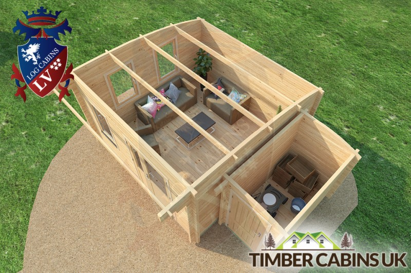 Log Cabin Calderdale 5.5m x 4m 001