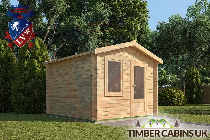 Log Cabin Charnwood 3m x 3m 001