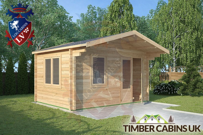 Log Cabin Chipping 4m x 3m 001