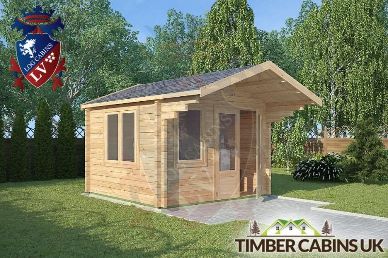 Log Cabin Chorley 3m x 4m 001