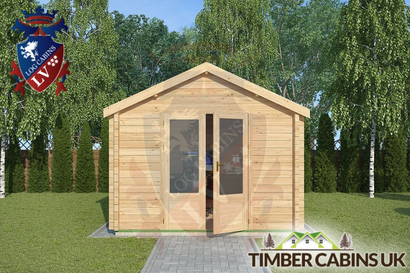 Log Cabin Clitheroe 3m x 3m 001