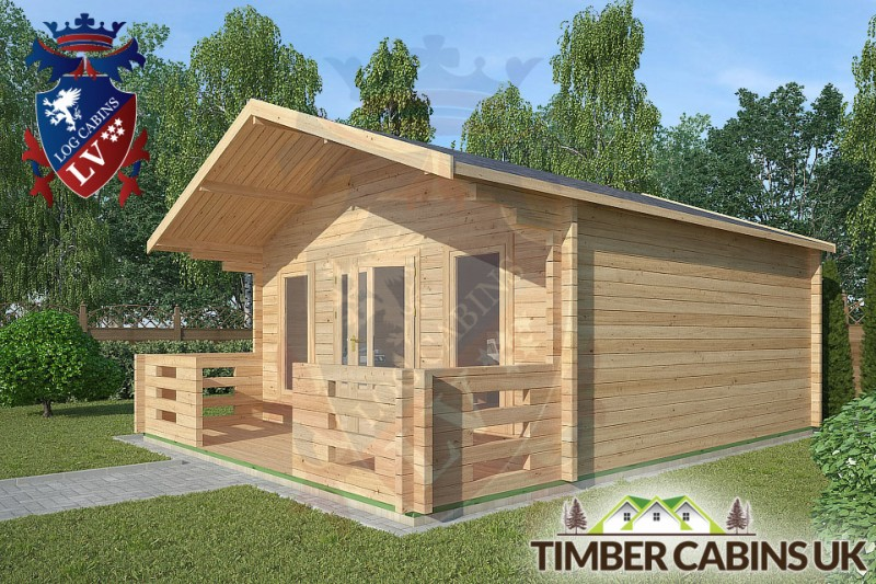 Log Cabin Cockerham 5m x 5m 001