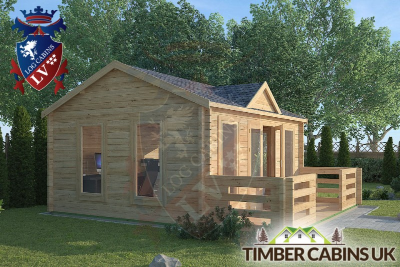 Log Cabin Cumbria 5m x 4m 001
