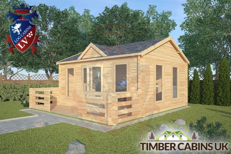 Log Cabin Cumbria 5m x 4m 001