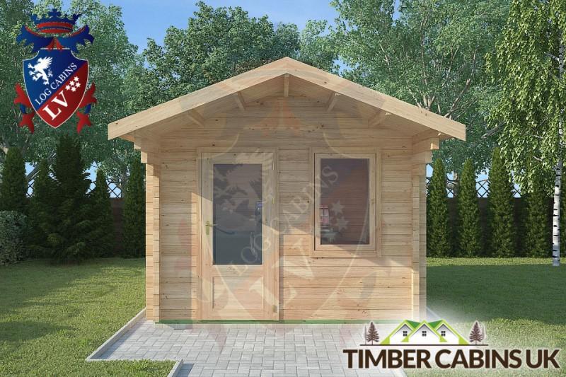 Log Cabin Darwen 3m x 4m 001