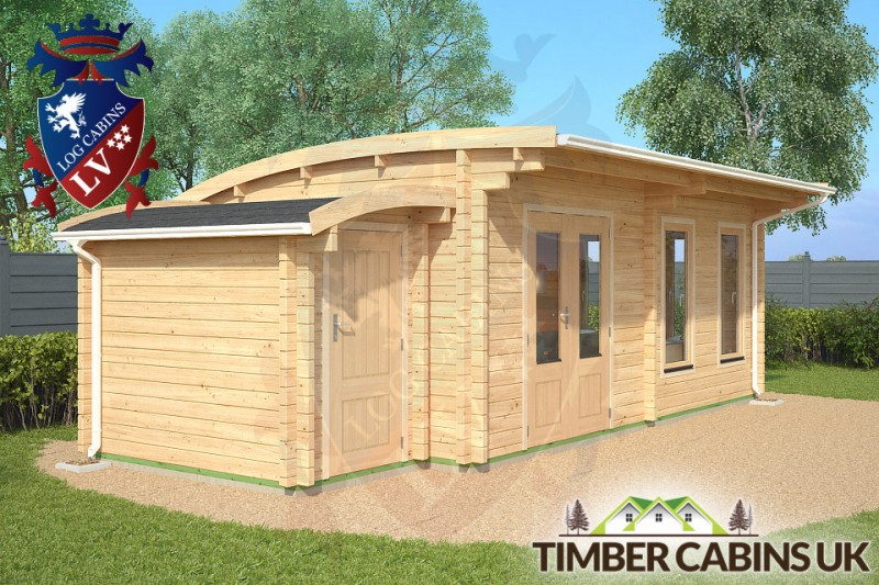 Log Cabin Derby 7.5m x 3.5m 001