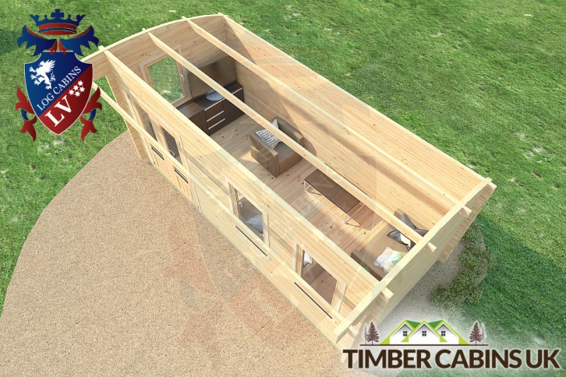 Log Cabin Doncaster 5.5m x 2.5m 001