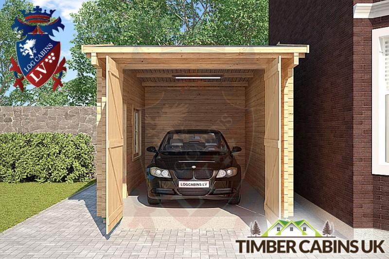 Log Cabin Dover 2.95m x 5.35m 001