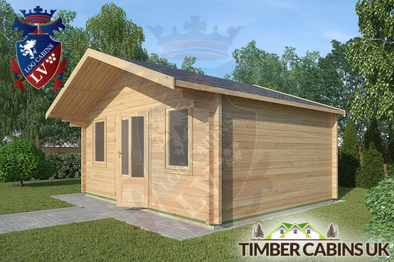 Log Cabin Downholland 5m x 4m 001