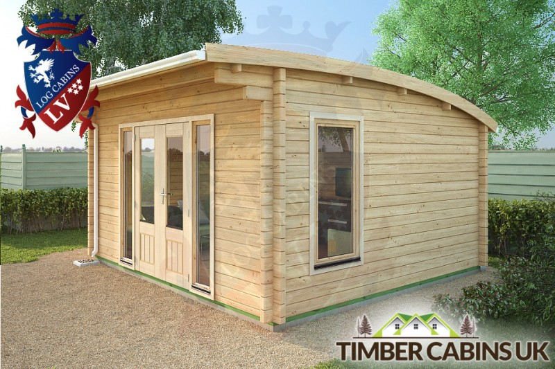 Log Cabin Dudley 4.5m x 4m 001