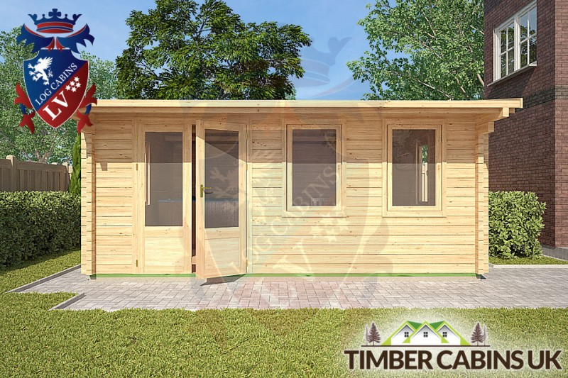 Log Cabin East Dunbartonshire 5m x 5m 001