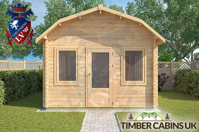 Log Cabin East Hampshire 3.5m x 4.5m 001