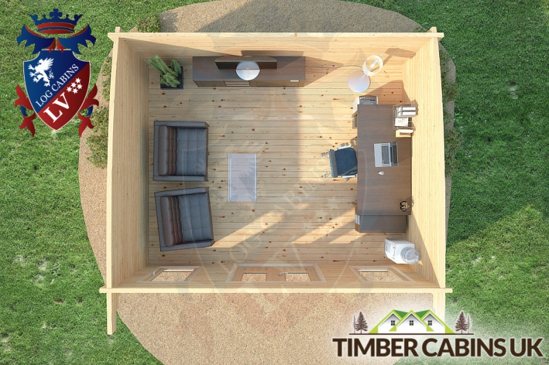 Log Cabin East Riding 5m x 4m 001