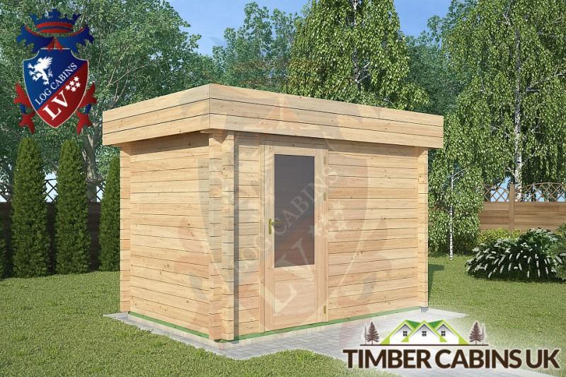 Log Cabin Fleetwood 3m x 2m 001