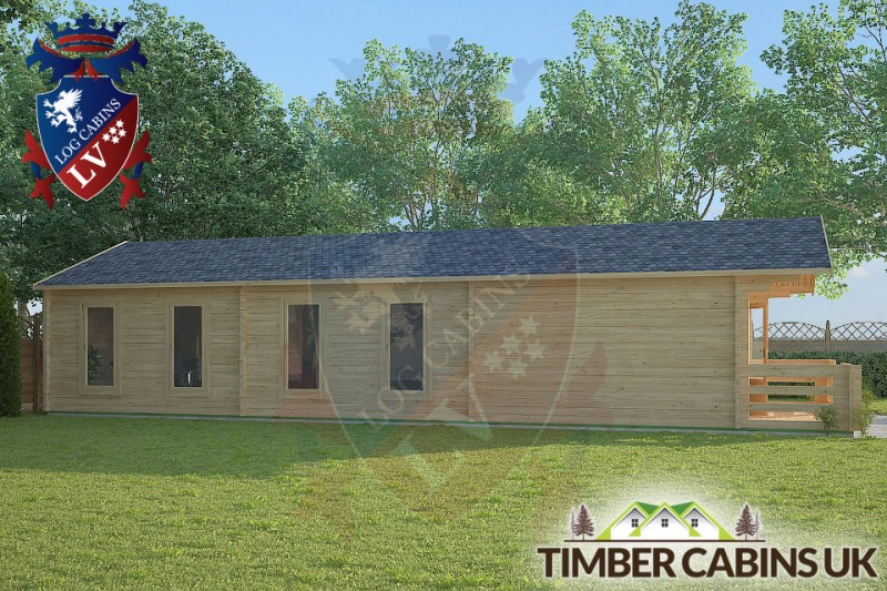 Log Cabin Forest of Bowland 5m x 12m 001