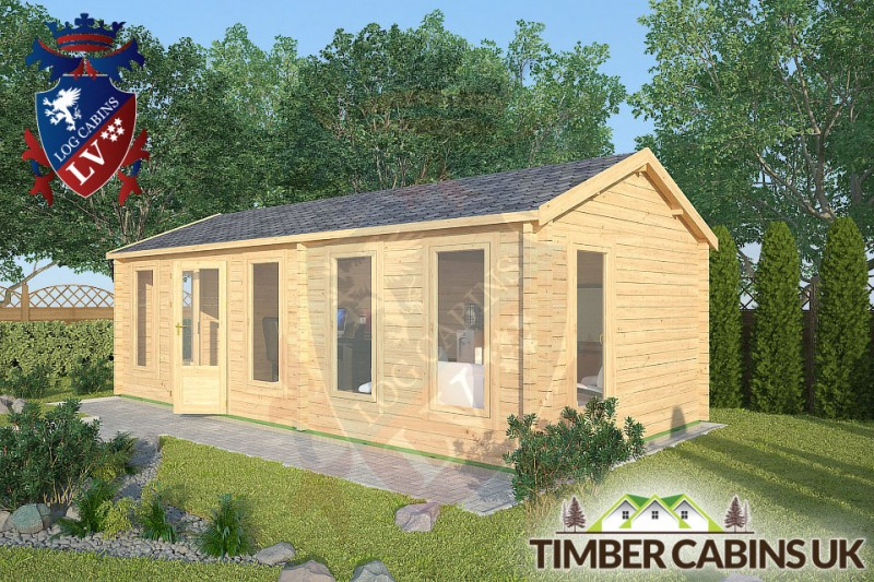 Log Cabin Forest of Bowland 7.5m x 3.5m 001