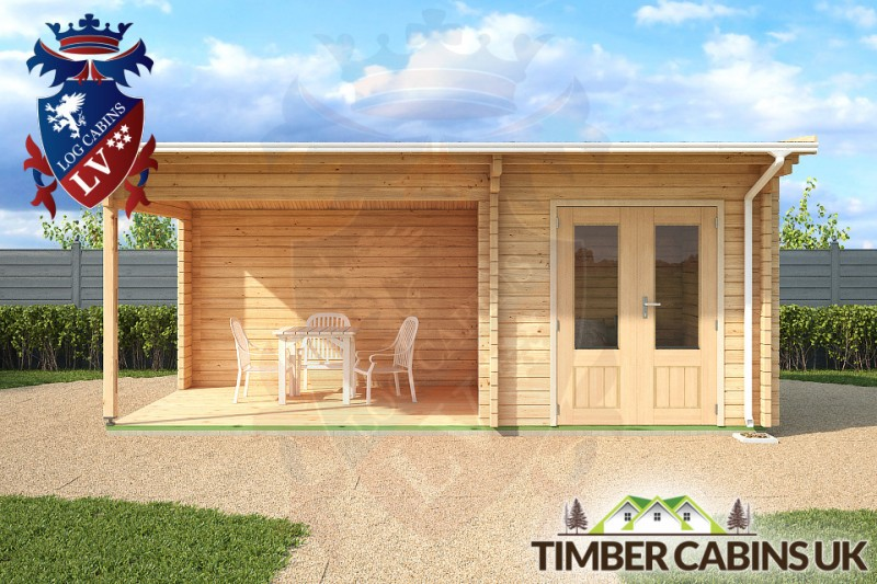 Log Cabin Gateshead 6m x 3m 001