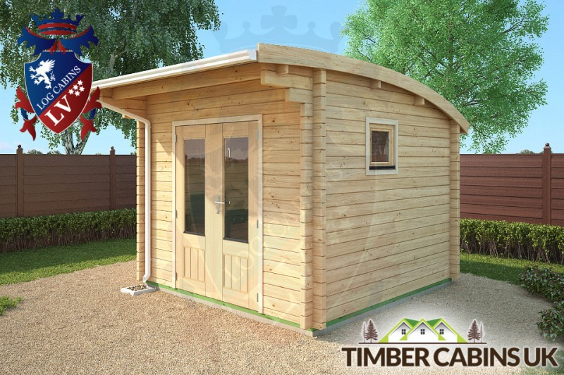 Log Cabin Glasgow 3m x 3m 001
