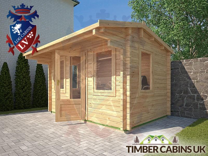 Log Cabin Gloucester 3.55m x 2.35m 001