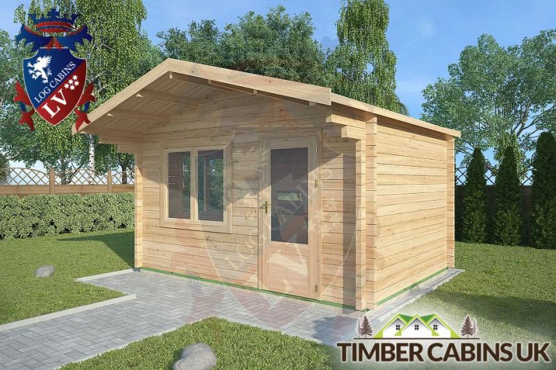 Log Cabin Grindleton 4m x 3m 001
