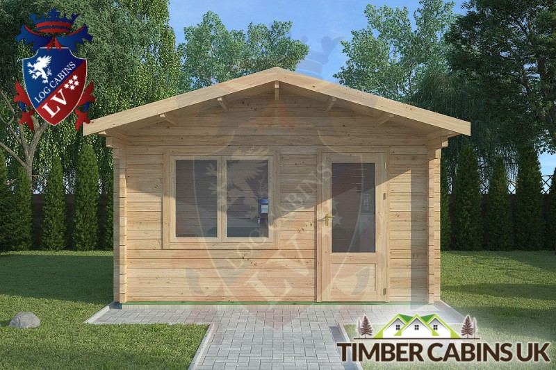 Log Cabin Grindleton 4m x 3m 001
