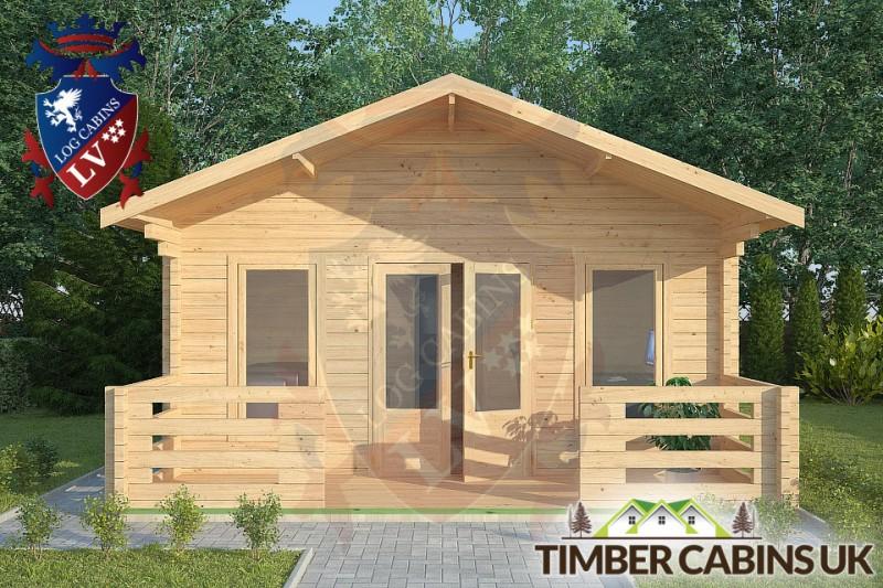 Log Cabin Halton 5m x 7m 001