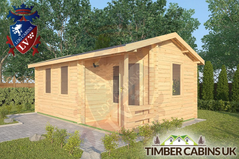 Log Cabin Hesketh Bank 5.5m x 3.5m 001