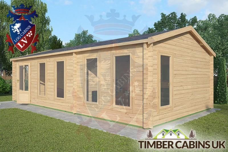 Log Cabin Heysham 8.5m x 4.5m 001