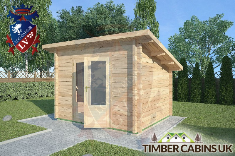 Log Cabin Heywood 3m x 2.5m 001