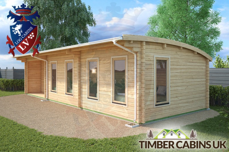Log Cabin Highland 10.5m x 4m 001
