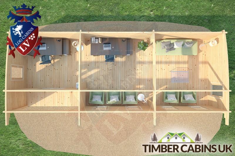 Log Cabin Highland 10.5m x 4m 001