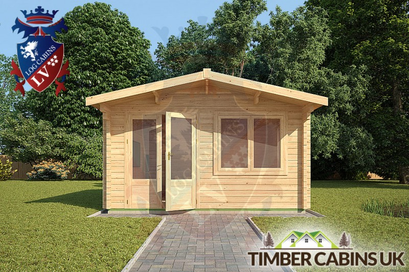 Log Cabin Huntingdonshire 4m x 4m 001
