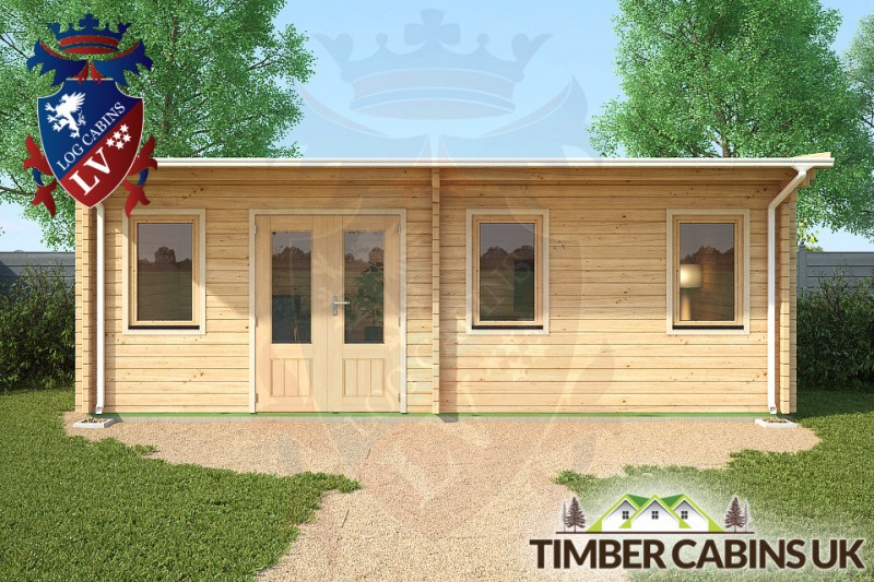 Log Cabin Kingston-upon-Hull 7m x 3.5m 001