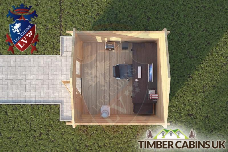 Log Cabin Lancaster 3m x 3m 001