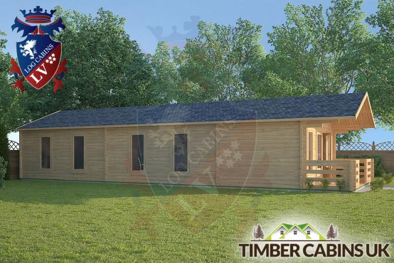 Log Cabin Lancaster 5m x 13m 001