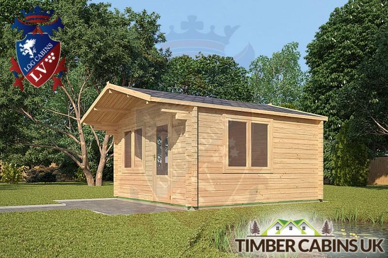 Log Cabin Lincolnshire 4m x 5m 001
