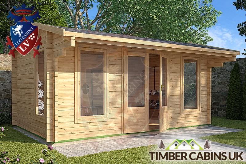 Log Cabin Lisburn 4.75m x 2.95m 001
