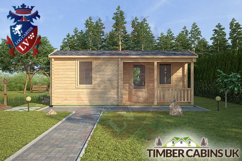 Log Cabin Lisburn 7.6m x 6m 001